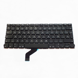 Sp laptopS online shopping - New Spanish Laptop Keyboard For MacBook Pro Retina quot A1425 SP Keyboard Replacement Brand New