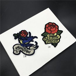 Embroidered Letter Iron Patches Canada - 20pcs Romantic Flower Backing Iron On Patch For Clothing Jacket Patches Letter parches Embroidered Cheongsam Dress Patchwork Stage Appliqued