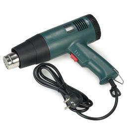 Hot Soldering Gun Canada - 1800W AC220V Digital Hot Air Gun Temperature-controlled Heat Gun Hair dryer Soldering hairdryer Gun build tool with 4pcs Nozzle