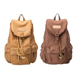 $enCountryForm.capitalKeyWord UK - Boys Men's Multi-purpose Outdoor Travel Canvas DSLR Camera Bag Casual Backpack Soft Handle Comfortable shoulder bag 2 colors