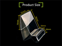 Wholesale Cell phone display stand clear acrylic universal mobile lazy desktop phone holder for iPhone plus GPS iPod HTC Huawei Samsung
