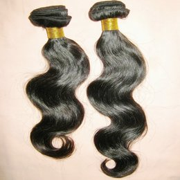 Sleek Hair Canada - Impressed Happy Shopping 200g lot Body Wave Peruvian Human Hair Extensions Silky Sleek weaves