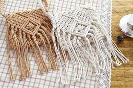 $enCountryForm.capitalKeyWord Canada - Summer Women Durable Weave Straw Beach Bag Feminine Linen Woven Bucket Bag Grass Casual Tote Handbags Knitting Rattan Bags
