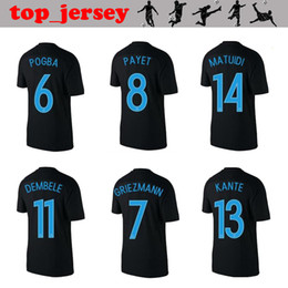 online shopping 2017 FRANCE jersey POGBA thai quality FRANCE rd black  GRIEZMANN PAYET DEMBELE KANTE MATUIDI ee6bc8c96