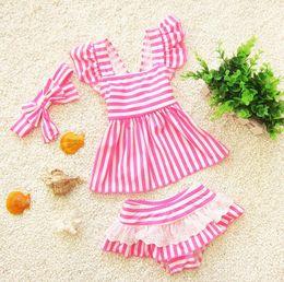 Swimwear for toddlerS online shopping - Children swimsuit separate kids girl swimwear mermaid swimsuit for kids baby girl bikini toddler girls bathing suits