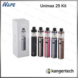 StickerS 25 online shopping - Joyetech Unimax Kit ml mah Unimax Battery With TFTA Tank Atomizer Colorful Stickers Changeable Large Pure Flavor Device