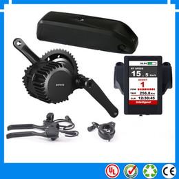 Discount tube drive - BBS03 BBSHD 48V 1000W Bafang 8Fun mid drive electric motor kit with 48V 14Ah Li-ion down tube ebike battery