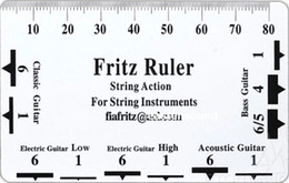 $enCountryForm.capitalKeyWord Canada - NEW Fritz String Action & Pitch Ruler 4 Guitar Bass String Instrument Nut Saddle