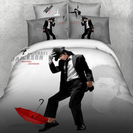 3d bedding sets marilyn monroe online shopping - d Michael Jackson bedding set queen Marilyn Monroe quilt duvet cover bedclothes bed sheet linen cotton home textile