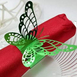 $enCountryForm.capitalKeyWord Canada - Hollow Out Butterfly Shape Napkin Rings Wedding Party Decor Lunch Tables Elegant Holder Essential Wedding Party Decoration 0 35rs H R
