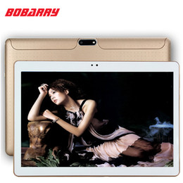 Tablet 4g Sim Canada - Wholesale- 10.1 inch tablet S108 Octa Core 3G 4G LTE phone tablet Android 6.0 4GB RAM 64GB ROM Dual SIM Bluetooth GPS 4G Tablet PC 10.1