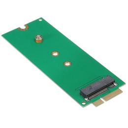 Toptan satış M.2 NGFF 67-pin Apple MacBook Pro 2012 Için SSD 17 + 7 pin Adaptörü Dönüştürücü SSD'ler 7 + 17pin 8 + 18pin