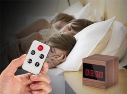 $enCountryForm.capitalKeyWord NZ - 32GB 1080P Digital Clock Camera Mini Alarm Clock Video Recorder Motion Detection Security DVR With Remote Night Vision Surveilance Camcorder