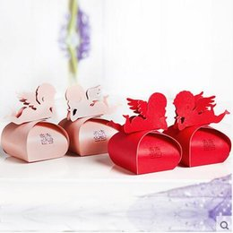 Barato Caixas De Bolo Favorece-Wedding Favors Boxes Gift Dia dos Namorados Candy Holder Party Favors Oco Casamento Candy Boxes Favor Chocolate Gags candy bags cake boxes