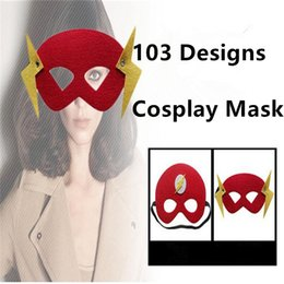 $enCountryForm.capitalKeyWord NZ - 103 Designs Halloween Cosplay Mask 2 Layer Cartoon Felt Masks Eye Shade Costume Party Masquerade Eye Mask Children Kids Performance Masks