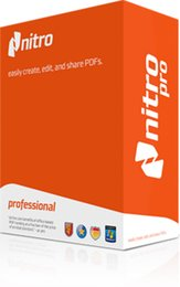 2017 Le plus grand Nitro PDF Pro V9 et Nitro PDF Pro V11 Version Outil de traitement PDF Global Send
