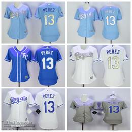 2450ea7feba ... white flexbase authentic collection stitched 3ec54 95c55  where can i  buy womens baseball jerseys kansas city royals 13 salvador perez 2015 world  series