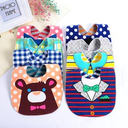 Wholesale Waterproof Cartoon Children Bibs Infant Burp Cloths Brand New Clothing Towel Kids Girl and Boy Bibs