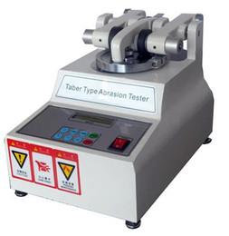 Vente en gros Abrasif de Taber, appareil de contrôle d'abrasion de Taber, machine d'essai de résistance d'abrasion de Taber ASTM D4060 excellente qualité EXPÉDITION LIBRE