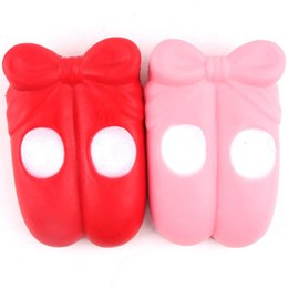 Chinese  New Arrival Cute 15cm Slow Rising Squishy Ballet Shoes Kawaii Squishies Cream Scented Decompression Anxiety Toys manufacturers