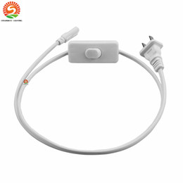 pigtail wire NZ - US Plug 6ft T5 T8 LED Tube Wire switch Connector With ON OFF Switch Power Cord Extension Pigtail Cord for Lamp Light Port
