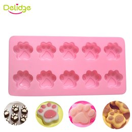 $enCountryForm.capitalKeyWord Canada - 1pc 10 Holes Cat Dog Claws Silicone Cake Mold DIY Chocolate Decorating Bakeware Tool 3D Soap Cupcake Cooking Moulds