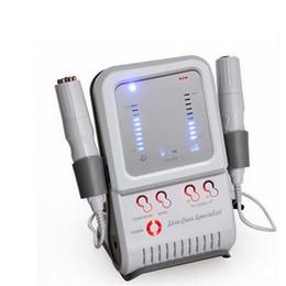Nueva Bipolar RF Sin aguja Mesoterapia Cara Cuerpo Dispositivo de Belleza Radio Frecuencia Electroportion Rejuvenecimiento de la Piel Eliminación de Arrugas