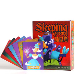 $enCountryForm.capitalKeyWord NZ - Sleeping Queens Queen Children'S Educational Toy Card Game Board Game Party Game Funny Kids With English Instructions