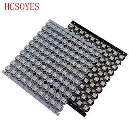 3mm Warm White UK - 100 pcs ws2812b Individually addressable led chip ws2811 ic RGB 2812b led Heatsink(10mm*3mm) led light beads DC5V