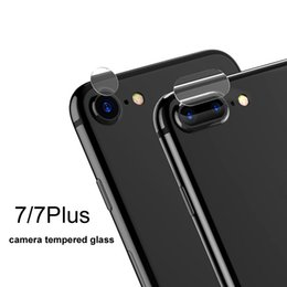 Chinese  For Iphone 7 7Plus Back Camera Lens Screen Protector Protection Tempered Glass Full Cover Coverage Film For Samsung Galaxy S7 Edge S8 + manufacturers