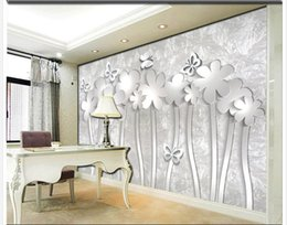High Quality Discount Custom Size Wall Murals Custom Any Size 3D Flower Bedroom Mural  Background Wall Mural 3d Part 24