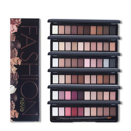 $enCountryForm.capitalKeyWord NZ - Shimmer Matte Natural Fashion Eye Shadow Make Up Light Eyeshadow Cosmetics Set With Brush 10 Colors NOVO Eye Makeup Palette