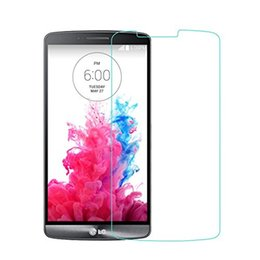 Chinese  Shatter Proof Explosion Proof 9H 0.3mm Screen Protector Tempered Glass for LG G2 D801 D802 D805 G3 D850 G4 manufacturers
