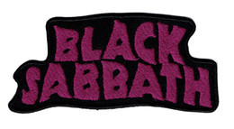 Ironing Label Canada - Green House Fashion BLACK SABBATH Black Label Society Iron On  Sew On Patch Applique DIY Clothing Emblem Free Shipping