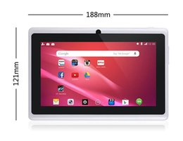 epad tablet pc 2019 - 7 inch Allwinner A33 Q88 Q8 Quad Core Android 4.4 dual camera Tablet PC 4GB 8GB ROM 512MB WiFi EPAD Youtube Facebook Goo