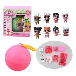 Détails Robes Pas Cher-LOL SURPRISE DOLL Série 2 Dress Up Toys Baby Dolls Lil Sisters LOL Surprise Figurines d'action avec boîte de détail CCA7451 50pcs