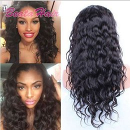 great wigs UK - Malaysian Deep Curly Wave Human Hair Lace Front Wigs 8-24inch New Arrival Full Lace Wig Natural Color Glueless Lace Wigs Great Remy Retail