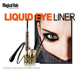 $enCountryForm.capitalKeyWord Canada - Fashion Makeup Eye Leopard Shell Black Liquid Eyeliner + Long-lasting Waterproof Eye Liner Pencil Pen Makeup Cosmetic Tools