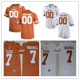 04eebe888 ... Texas Longhorns College Football Limited Brunt Orange white  Personalized Stitched Any Name Number 7 New Style College Texas Longhorns  Jerseys 34 Ricky ...