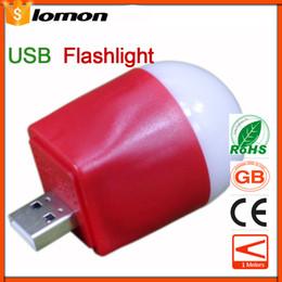 $enCountryForm.capitalKeyWord Canada - Mini Waterproof USB Rechargeable Flashlight LED Light Lamp USB Flash Drive Bright Light Computer Torch Night Light Outdoor Sports Lighting