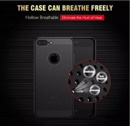 Mesh Iphone Case Black Australia - Mesh Heat Dissipation Hollow Breathable Slim Armor Hard PC Back Cover Case For iPhone X XS MAX XR 8 7 6 6S plus
