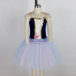 $enCountryForm.capitalKeyWord Canada - Girls Ballet Dance Long Tutu Dress for Performance Ballerina Dance Costume Romantic Style Tutu Girls Dance Tutus