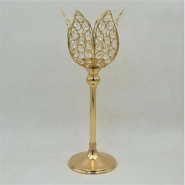 Shop wedding table decor candles uk wedding table decor candles classic gold finish lotus wedding table candle holder event or party candle stand home decor 1 lot 10 pcs junglespirit Image collections