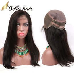 $enCountryForm.capitalKeyWord Australia - 360 Lace Wigs Brazilian Virgin Human Hair Weaves Human Hair Lace Wigs For Black Women Straight Bellahair 130% OR 150% Density