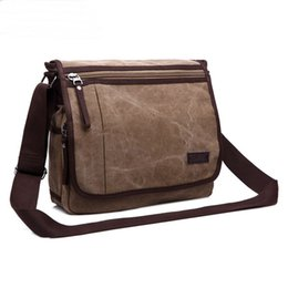 161186007723 mens bags school men crossbody briefcase canvas bag messenger bag computer  travel bags men s vintage canvas shoulder bag leather bags