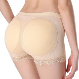 Butin De Renforcement De La Hanche Pas Cher-Vente en gros- Hot Shapers Femmes Sexy Butt Lifter Shaper Ass Culottes rembourrées Underwear Body Shaper Butt Hip Enhancer Shaper Panties Booty Lifter