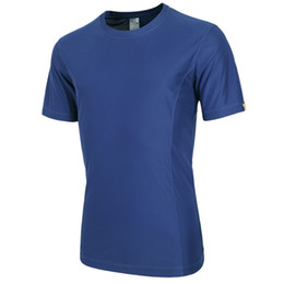 sport traning UK - Athletic Men's Short Sleeve Tops Cool Skin Tights T Shirts Running Hiking Outdoor sport Quick drying Traning tees