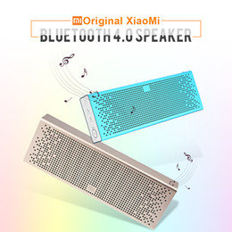 Wholesale New Original Xiaomi Mi Portable Bluetooth Wireless Speaker Support Hands free CallsTF Card AUX in for iOS Android Smartphone