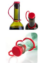 RubbeR bottle coRk online shopping - New Arrival Kitchen Anti lost Silicone Hanging Button Seasoning Beer Wine Cork Stopper Plug Bottle Cap Cover Perfect Home Kitchen Tools