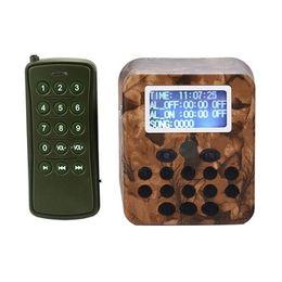Открытый охота Trail пульт дистанционного управления охота 50 Вт птица MP3 голос звук плеер птица звук громкоговоритель хищник Caller